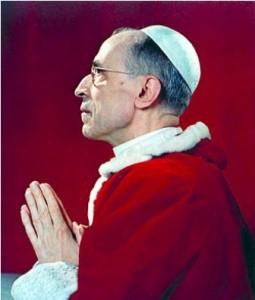 Pio XII in preghiera